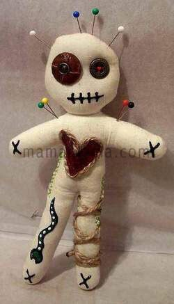 Make him love me voodoo spell with a voodoo doll